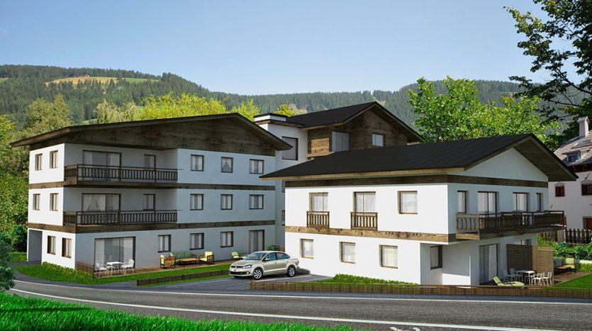 Konventionierte Wohnungen und Reihenhaus in Niederdorf