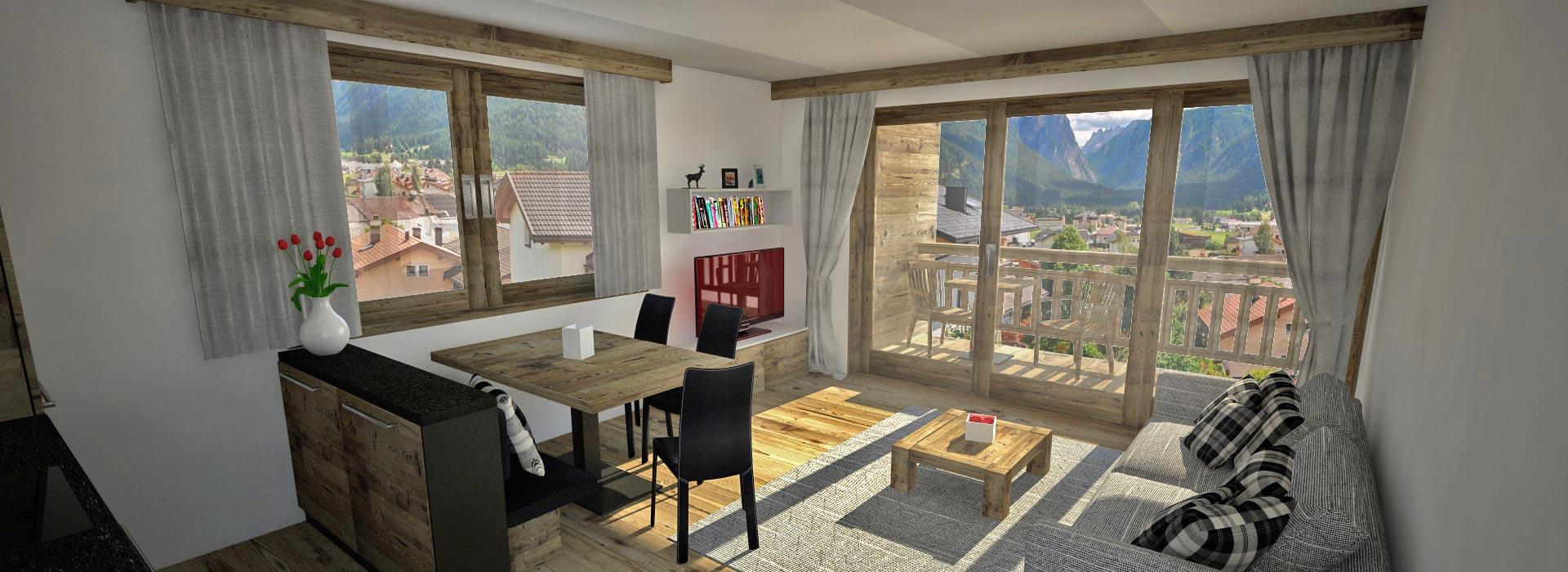 Wohnung in Toblach