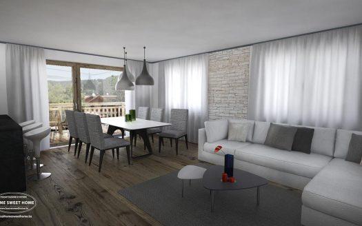 Große konventionierte Eigentumswohnung in Niederdorf